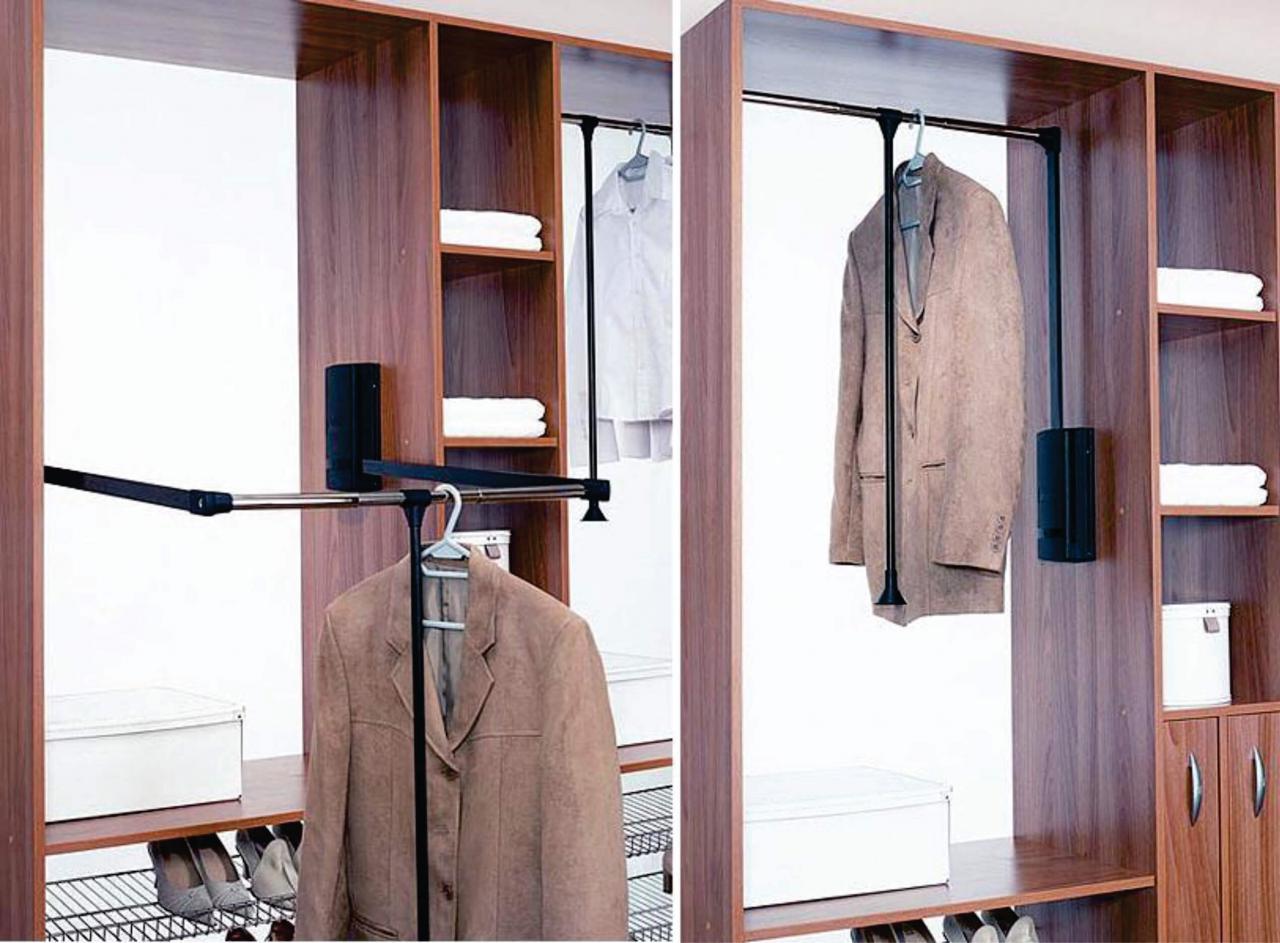 Лифт для одежды или пантограф