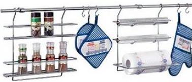 Рейлинги для кухни и навесные аксессуары